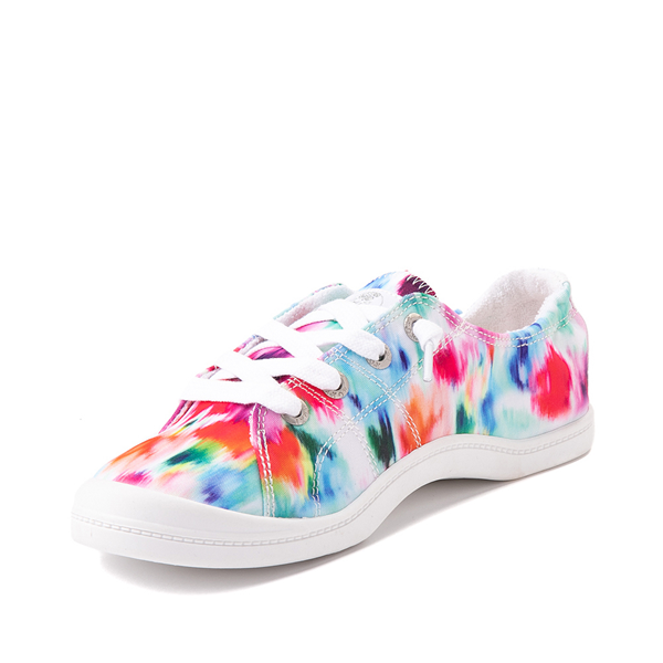 alternate view Womens Roxy Bayshore Casual Shoe - WatercolorALT3