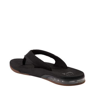 Alternate view of Mens Reef Fanning Low Sandal - Black