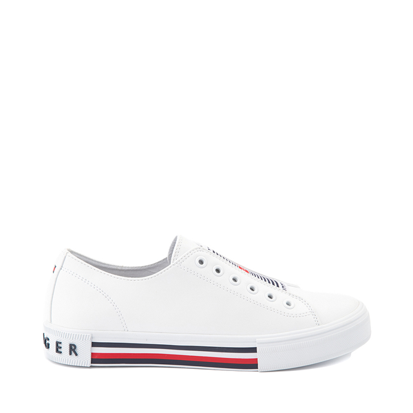 Womens Tommy Hilfiger Hopz 2 Slip On Casual Shoe - White