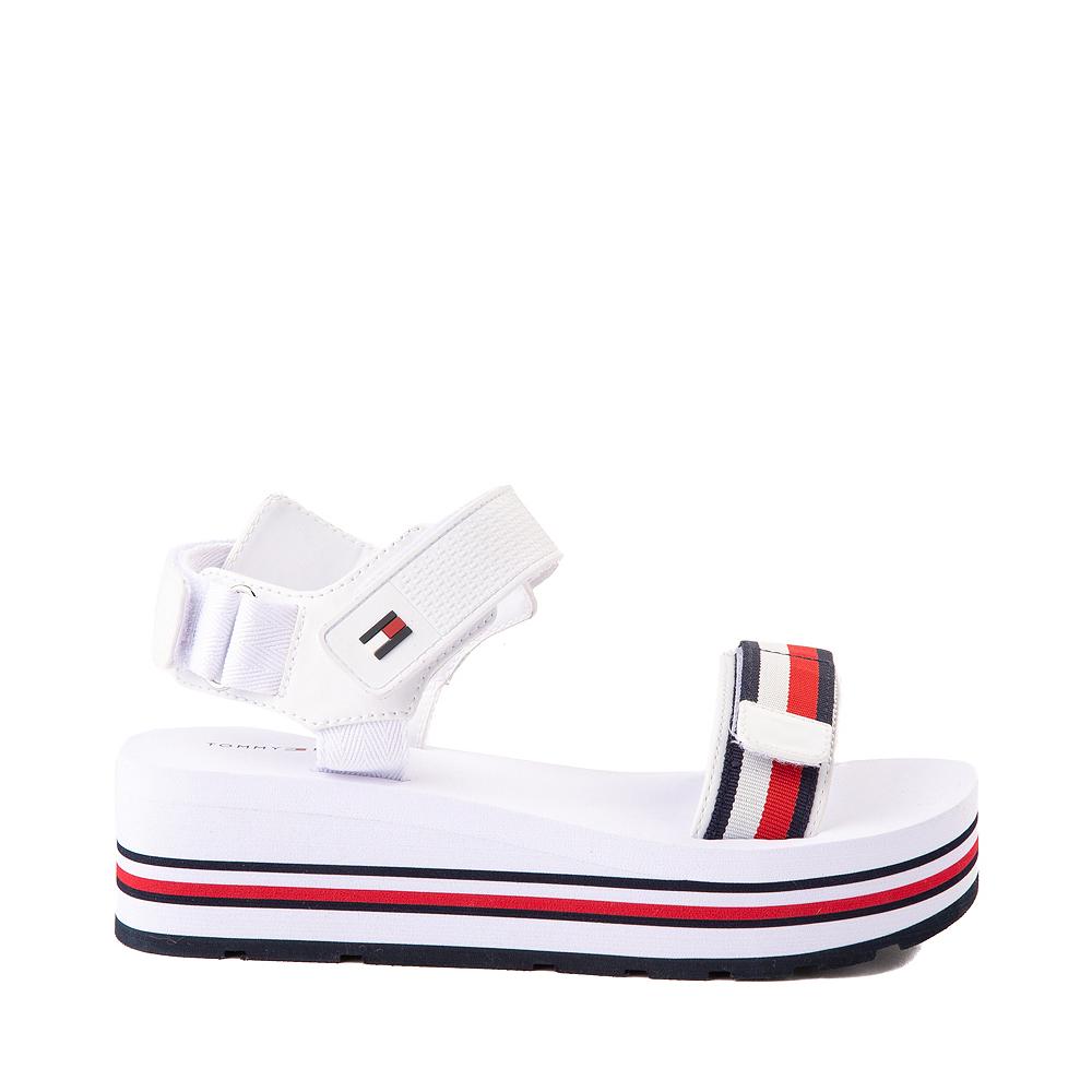 Womens Tommy Hilfiger Ashlen Platform Sandal - White