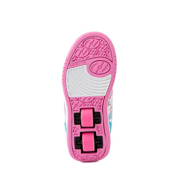 alternate view Heelys Dual Up X2 Skate Shoe - Little Kid / Big Kid - Neon Pink / Cyan / PurpleALT3