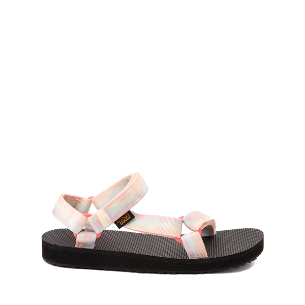 Main view of Teva Original Universal Sandal - Little Kid / Big Kid - Sorbet Lemon Tie Dye