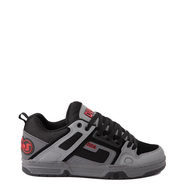Main view of Mens DVS Comanche Skate Shoe - Gray / Charcoal / Black