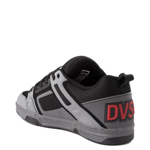alternate view Mens DVS Comanche Skate Shoe - Gray / Charcoal / BlackALT1