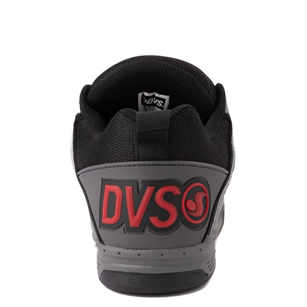 alternate view Mens DVS Comanche Skate Shoe - Gray / Charcoal / BlackALT4