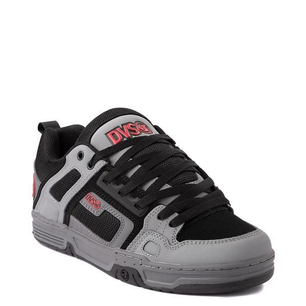 alternate view Mens DVS Comanche Skate Shoe - Gray / Charcoal / BlackALT5