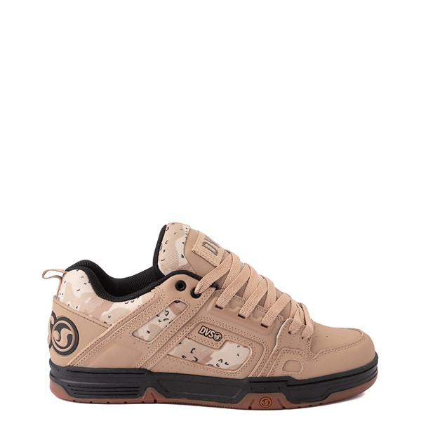 Main view of Mens DVS Comanche Skate Shoe - Tan / Camo
