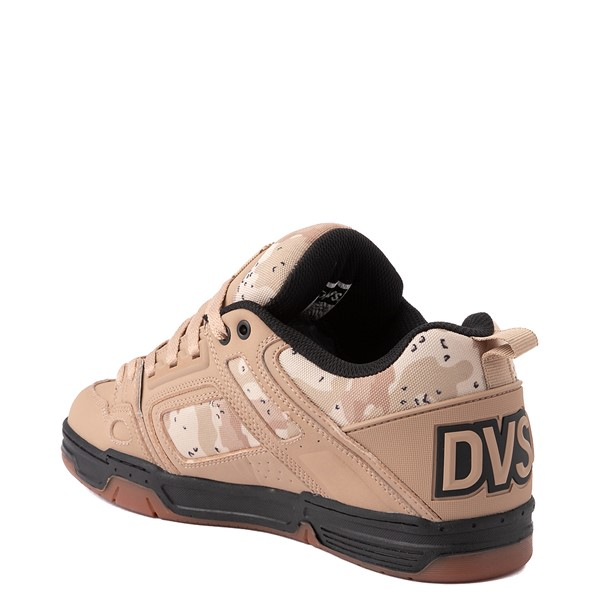 alternate view Mens DVS Comanche Skate Shoe - Tan / CamoALT1