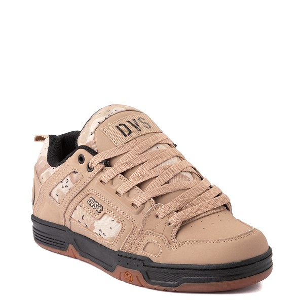 alternate view Mens DVS Comanche Skate Shoe - Tan / CamoALT5