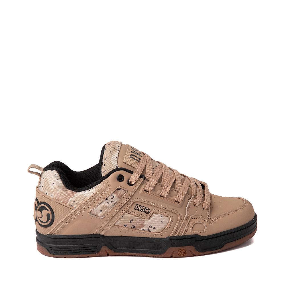 Mens DVS Comanche Skate Shoe - Tan / Camo
