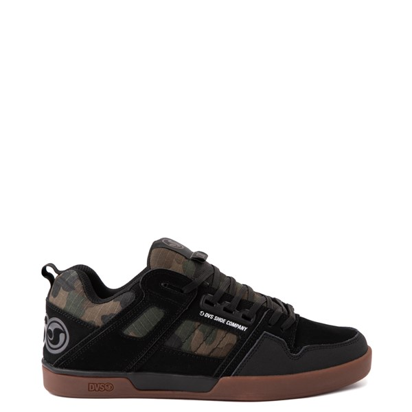 Main view of Mens DVS Comanche 2.0+ Skate Shoe - Black / Camo
