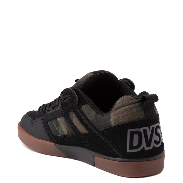 alternate view Mens DVS Comanche 2.0+ Skate Shoe - Black / CamoALT1