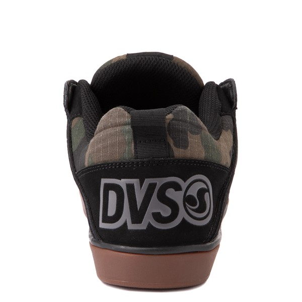 alternate view Mens DVS Comanche 2.0+ Skate Shoe - Black / CamoALT4