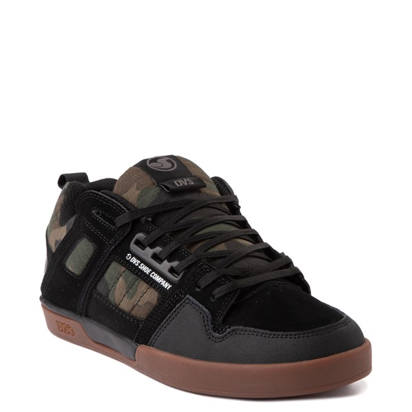 alternate view Mens DVS Comanche 2.0+ Skate Shoe - Black / CamoALT5