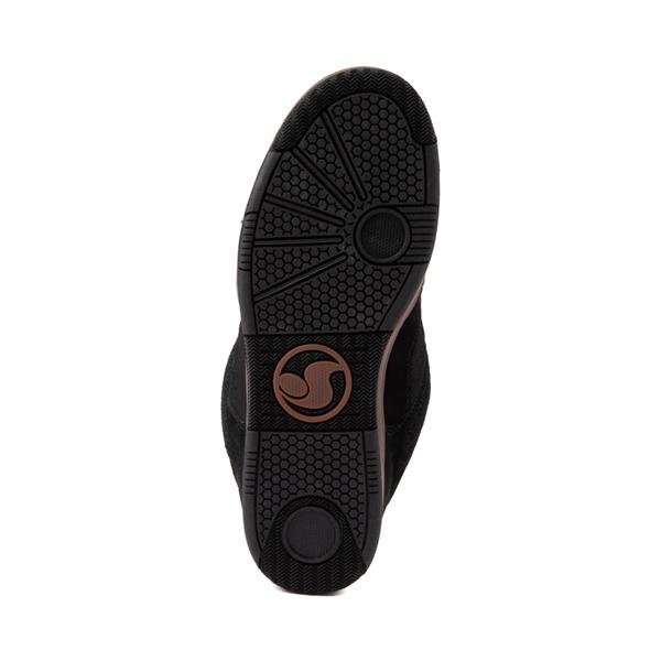 alternate view Mens DVS Enduro 125 Skate Shoe - Black / GumALT3