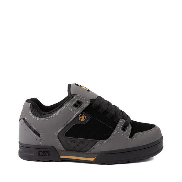 Main view of Mens DVS Militia Snow Skate Shoe - Charcoal / Black