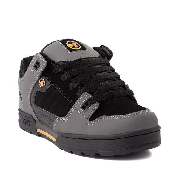 alternate view Mens DVS Militia Snow Skate Shoe - Charcoal / BlackALT5
