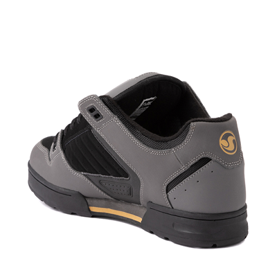 Alternate view of Mens DVS Militia Snow Skate Shoe - Charcoal / Black