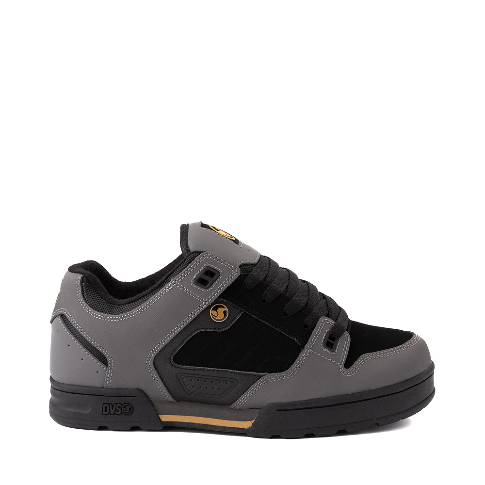 Mens DVS Militia Snow Skate Shoe - Charcoal / Black