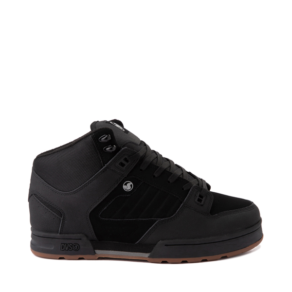 Main view of Mens DVS Militia Boot Skate Shoe - Black / Charcoal