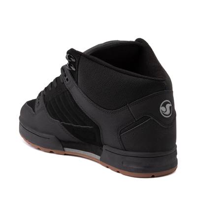 Alternate view of Mens DVS Militia Boot Skate Shoe - Black / Charcoal