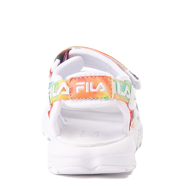alternate view Fila Disruptor Sandal - Baby / Toddler - White / Tie DyeALT4
