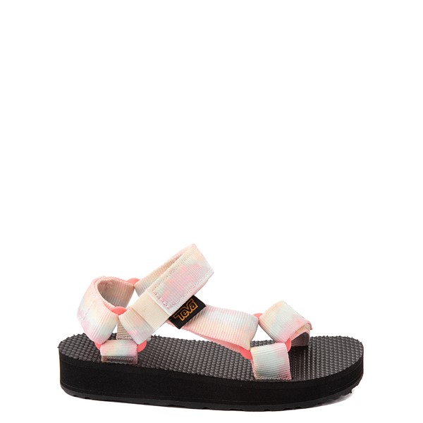 Main view of Teva Original Universal Sandal - Toddler - Sorbet Lemon Tie Dye