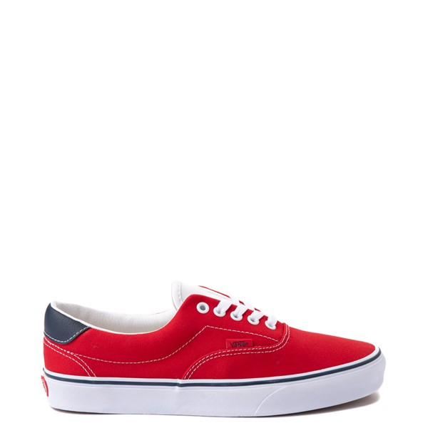 Vans C&L Era 59 Skate Shoe - Red / Navy