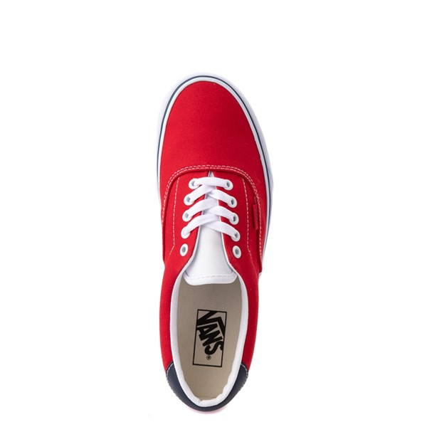 alternate view Vans C&L Era 59 Skate Shoe - Red / NavyALT2
