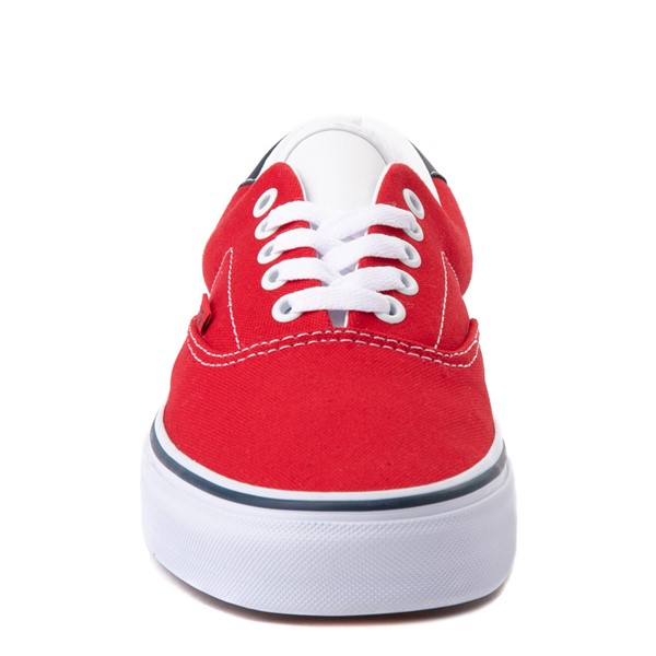 alternate view Vans C&L Era 59 Skate Shoe - Red / NavyALT4
