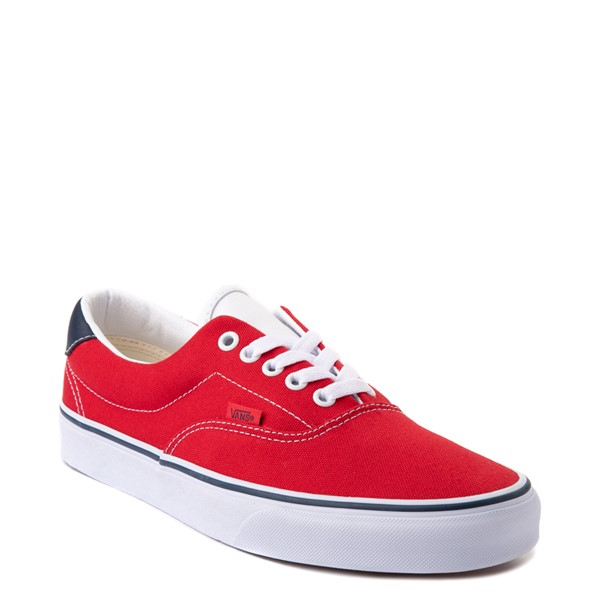 alternate view Vans C&L Era 59 Skate Shoe - Red / NavyALT5