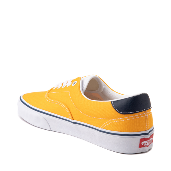 alternate view Vans C&L Era 59 Skate Shoe - Saffron / NavyALT1