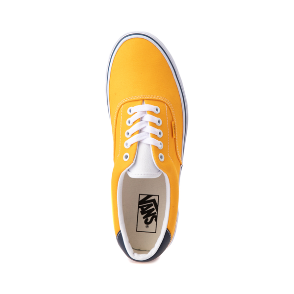 alternate view Vans C&L Era 59 Skate Shoe - Saffron / NavyALT2