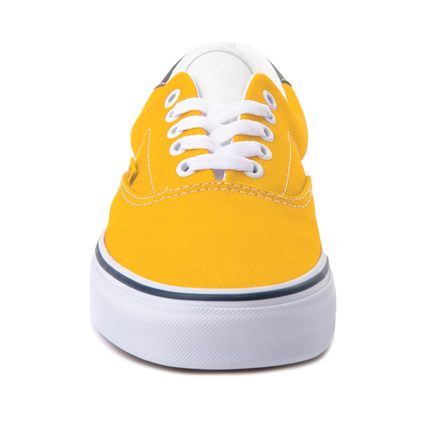 alternate view Vans C&L Era 59 Skate Shoe - Saffron / NavyALT4