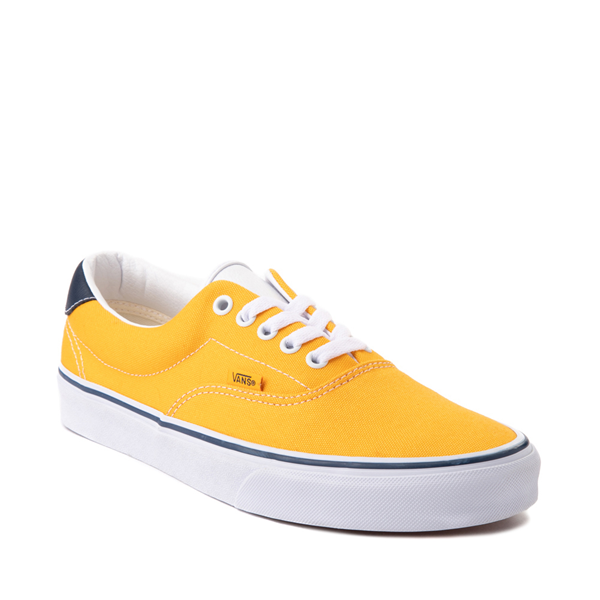 alternate view Vans C&L Era 59 Skate Shoe - Saffron / NavyALT5