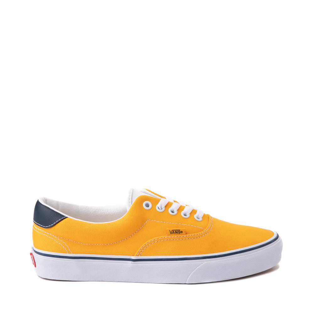 Vans C&L Era 59 Skate Shoe - Saffron / Navy