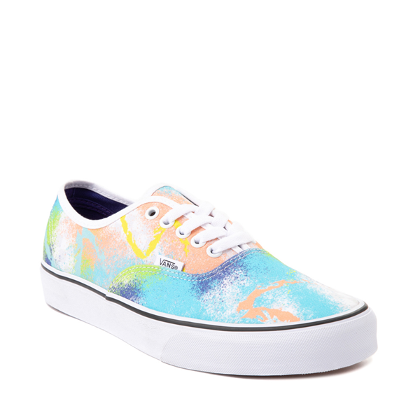 alternate view Vans Authentic Retro Mart Skate Shoe - MulticolorALT5