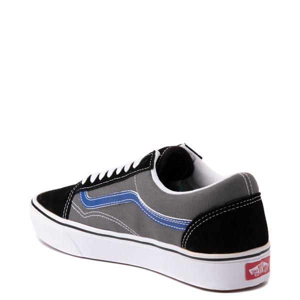 alternate view Vans Old Skool ComfyCush® Skate Shoe - Black / Pewter / BlueALT1