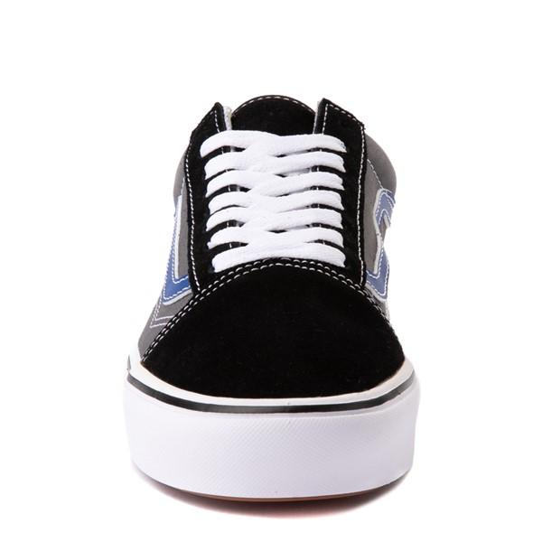 alternate view Vans Old Skool ComfyCush® Skate Shoe - Black / Pewter / BlueALT4