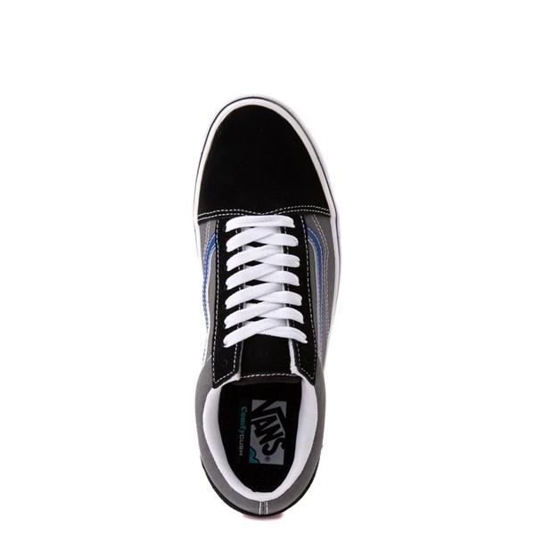 alternate view Vans Old Skool ComfyCush® Skate Shoe - Black / Pewter / BlueALT4B