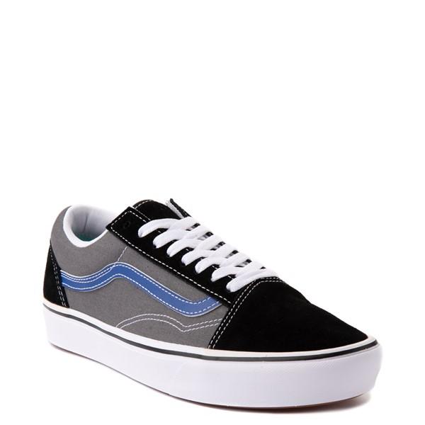alternate view Vans Old Skool ComfyCush® Skate Shoe - Black / Pewter / BlueALT5