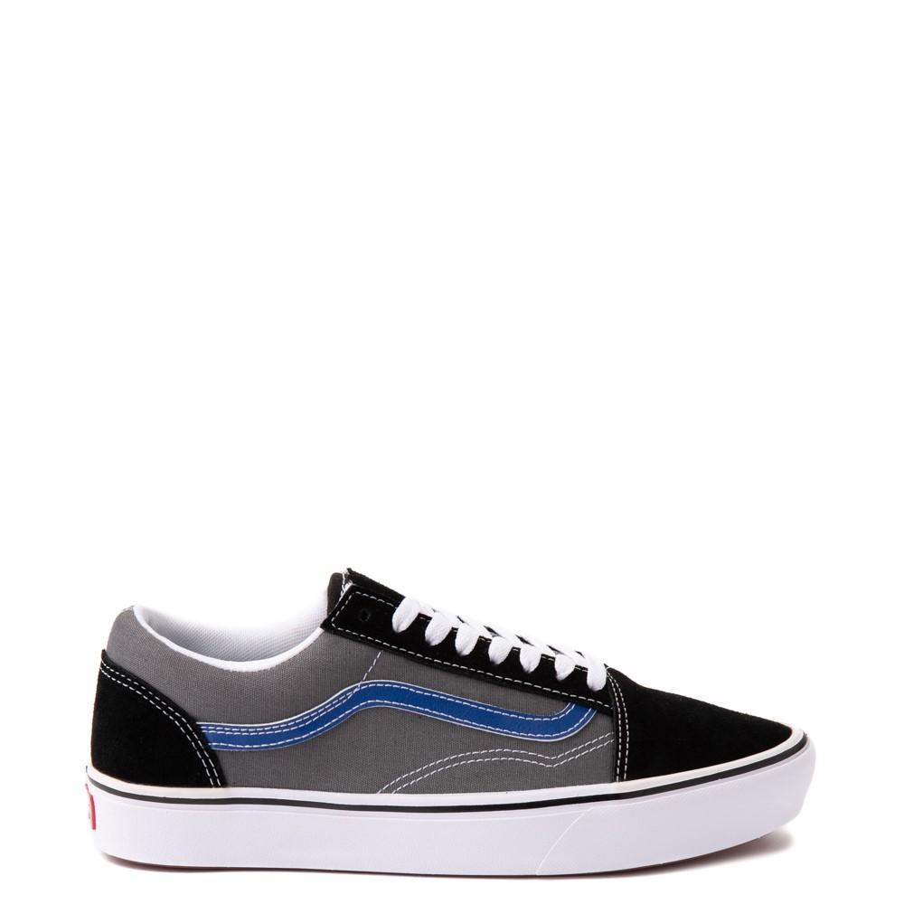 Vans Old Skool ComfyCush® Skate Shoe - Black / Pewter / Blue