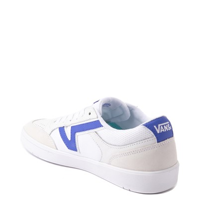 Alternate view of Vans Retro Sport Lowland ComfyCush® Skate Shoe - White / Baja Blue