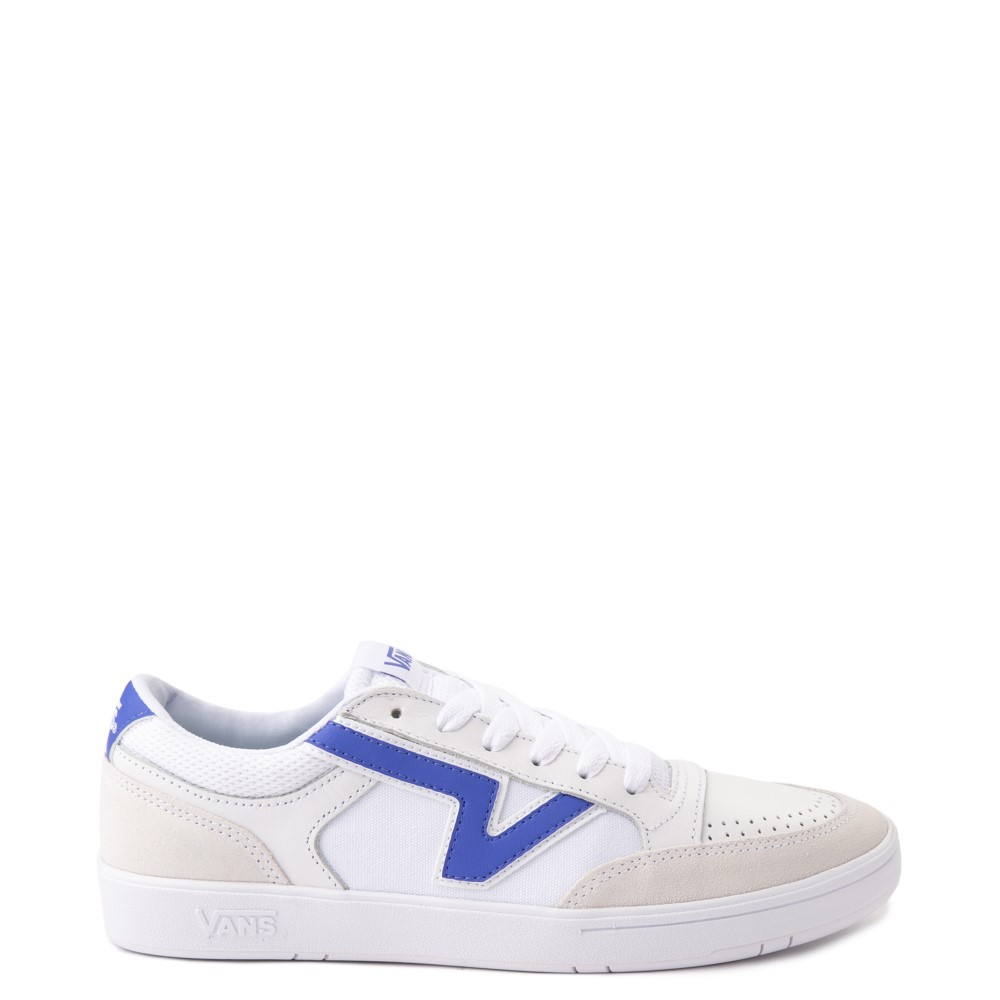 Vans Retro Sport Lowland ComfyCush® Skate Shoe - White / Baja Blue