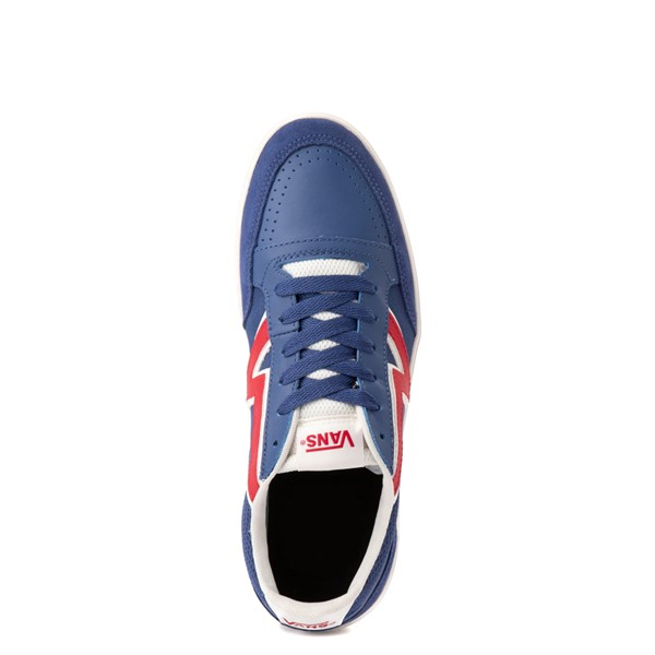 alternate view Vans Retro Sport Lowland ComfyCush® Skate Shoe - Navy / RedALT2