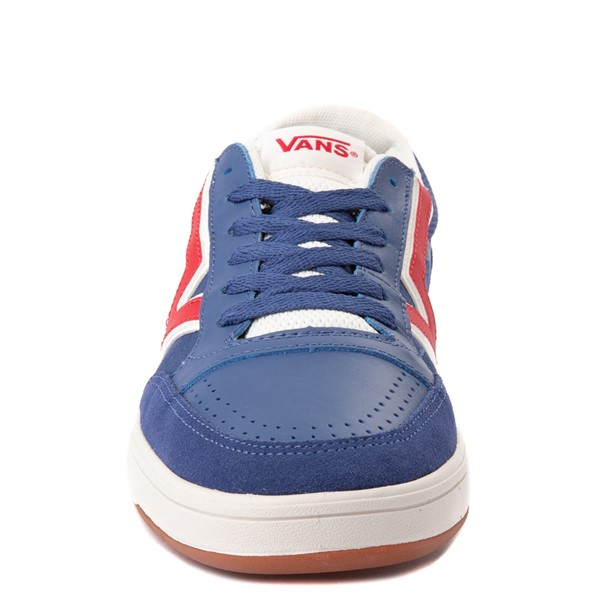 alternate view Vans Retro Sport Lowland ComfyCush® Skate Shoe - Navy / RedALT4