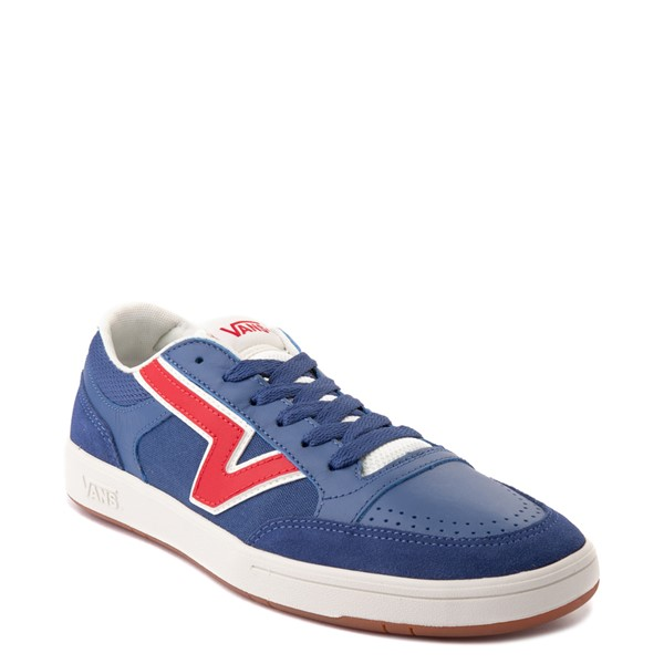 alternate view Vans Retro Sport Lowland ComfyCush® Skate Shoe - Navy / RedALT5