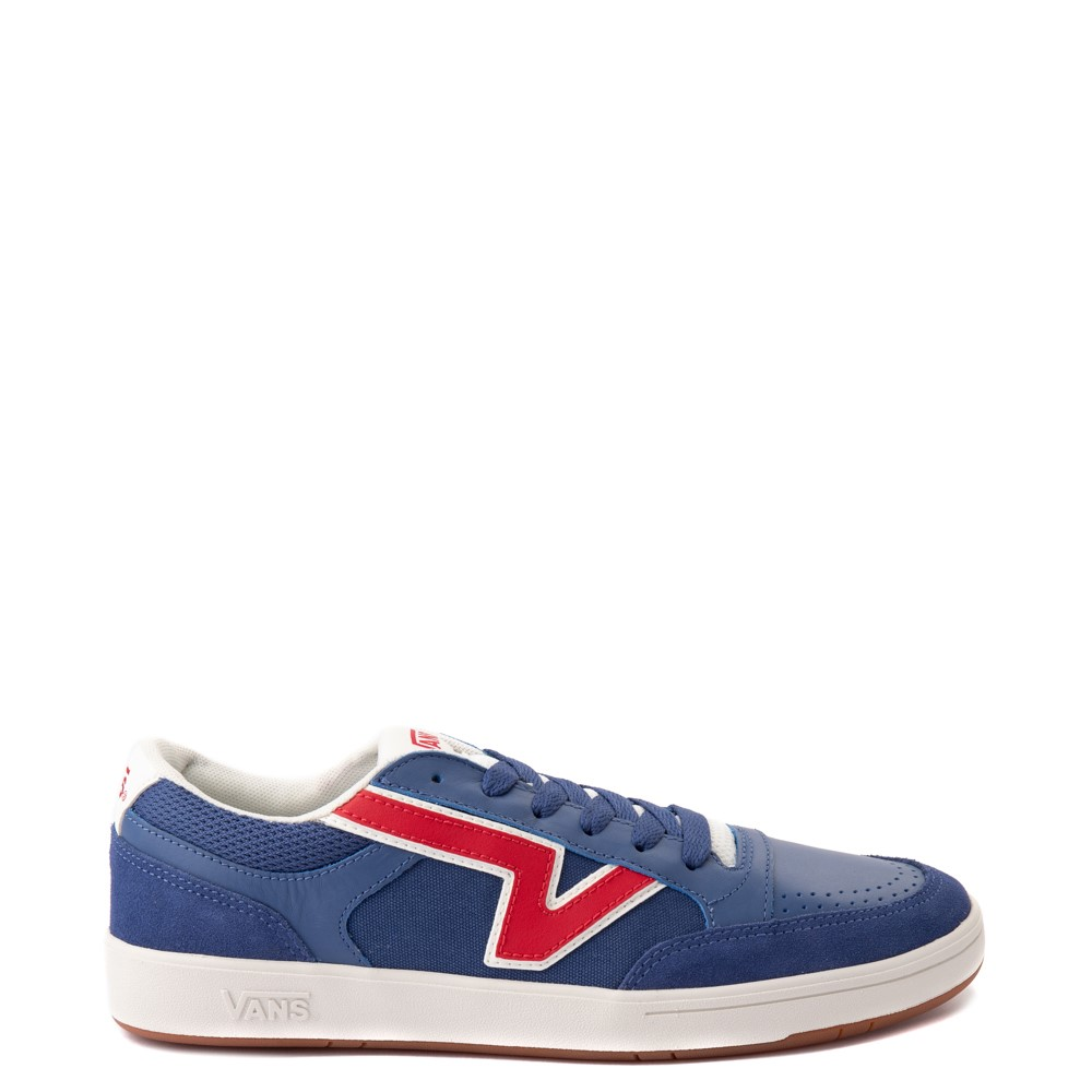 Vans Retro Sport Lowland ComfyCush® Skate Shoe - Navy / Red
