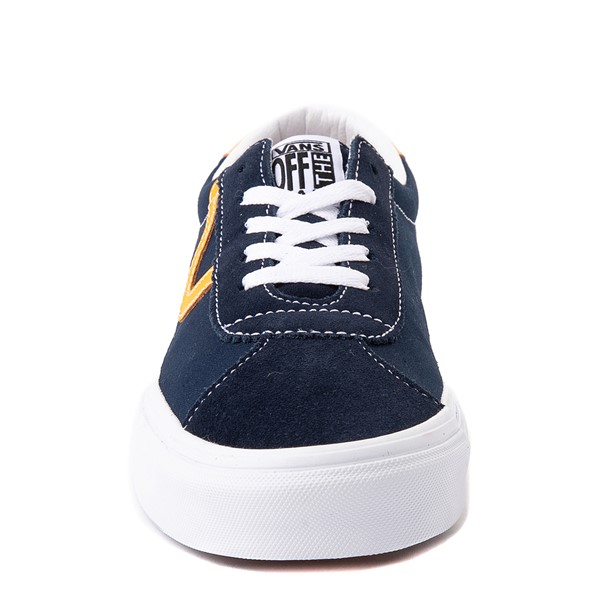 alternate view Vans Sport Skate Shoe - Dress Blues / SaffronALT4