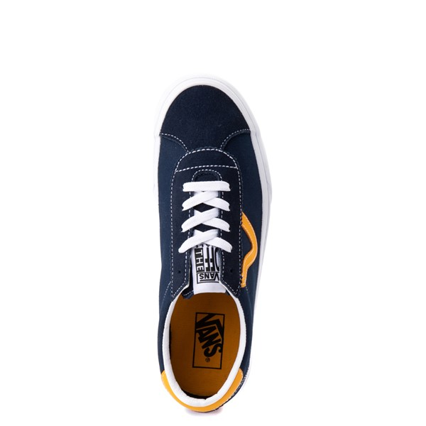 alternate view Vans Sport Skate Shoe - Dress Blues / SaffronALT4B